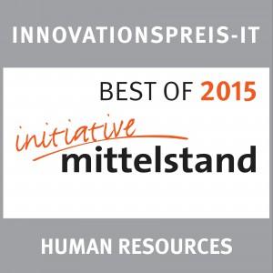 HRinstruments in der Kategorie Human Resources beim Innovationspreis-IT der Initiative Mittelstand