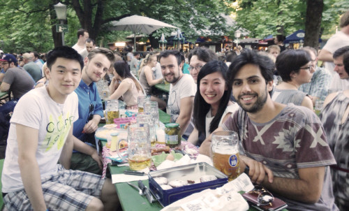 HRinstruments goes beer garden