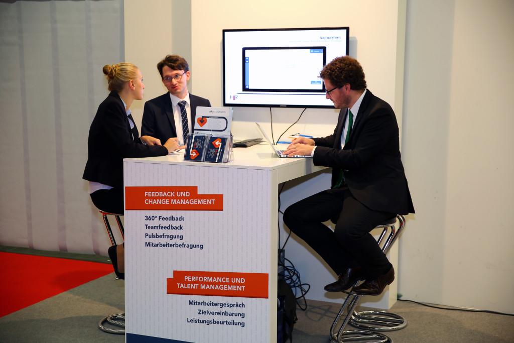 HRinstruments Team auf der Zukunft Personal 2015