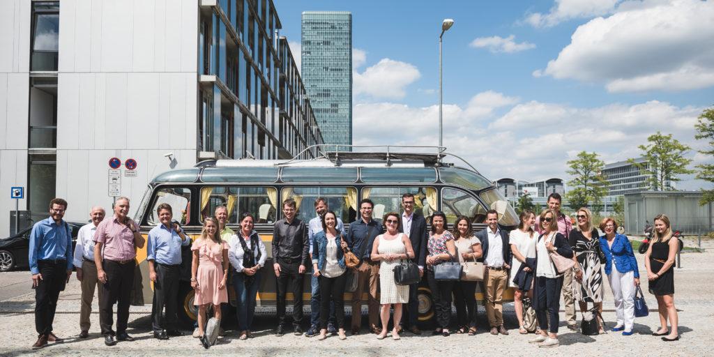 Teilnehmer der HR Expedition rund um New Work und Arbeit 4.0 in München