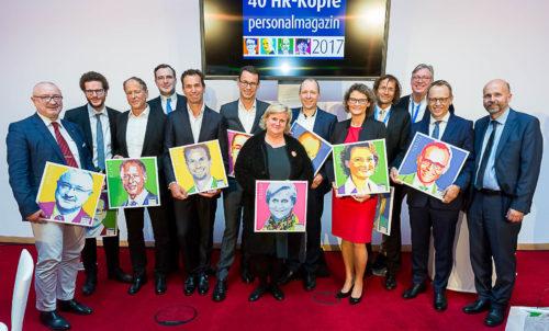 40 führende HR-Köpfe 2017 mit unserem Gründer Prof. Dr. Simon Werther