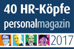 40 führende HR-Köpfe 2017