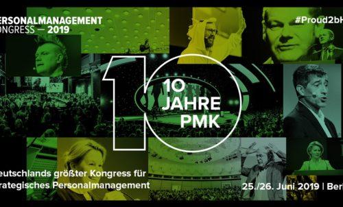 """Personalmanagementkongress 2019 mit dem Motto """"Machen"""""""
